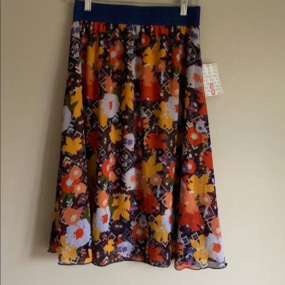LulaRoe Lola Skirt Size Small